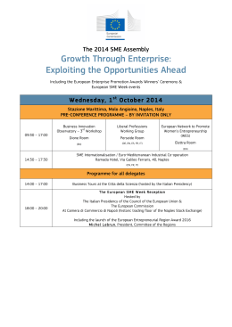 Growth Through Enterprise: Exploiting the Opportunities Ahead