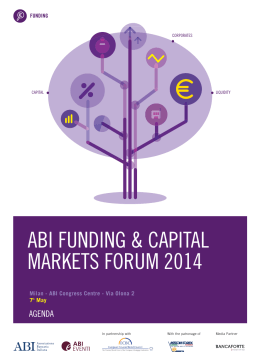 ABI FUNDING & CAPITAL MARKETS FORUM 2014