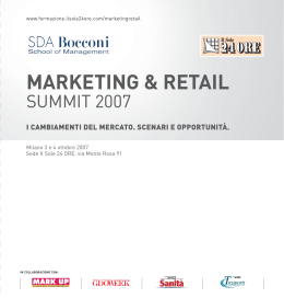 MARKETING & RETAIL