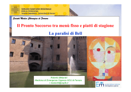 Le paralisi di Bell