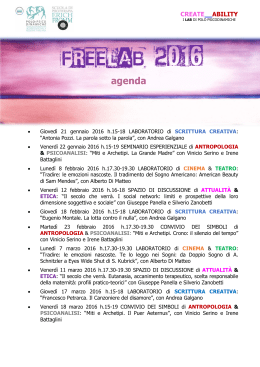 freelab2016-pdf - Polo Psicodinamiche