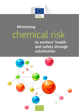Minimising chemical risk to workers` health and safety
