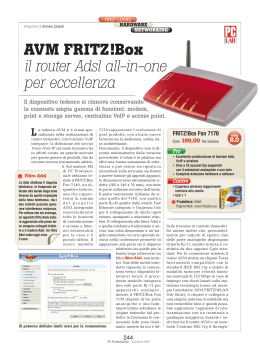 AVM FRITZ!Box il router Adsl all-in-one per