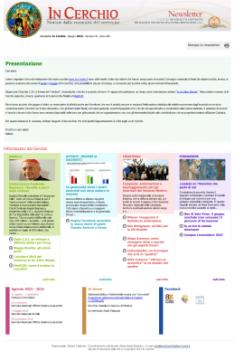 Stampa la newsletter