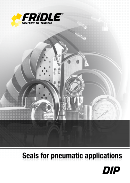 seals for pneumatic applications dip