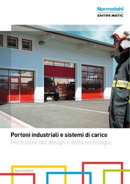 Portoni industriali coibentati for Imva portoni