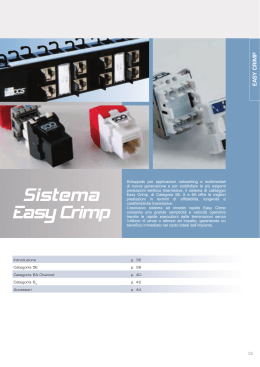 Sistema Easy Crimp