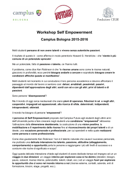 Programma Workshop Self Empowerment 15-16