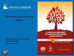 The Follow Up in The Prostate Cancer