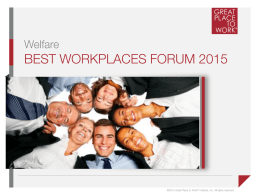 Brochure - Great Place to Work® in Italia
