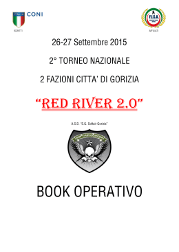 """Red River 2.0"" - Softair Gorizia"