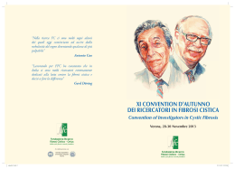 Brochure XI Convention d`Autunno FFC