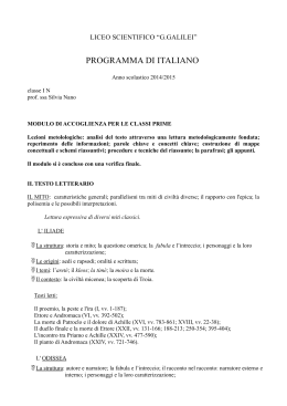 "Program ita I N - Liceo Scientifico ""G.Galilei"""