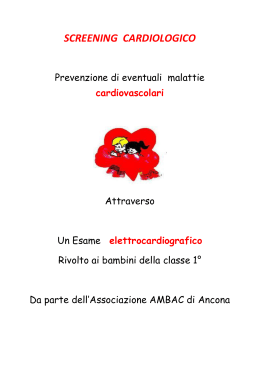 SCREENING CARDIOLOGICO