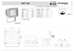 SEF LED IP65