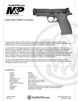 Smith & Wesson M&P45c Compact Size