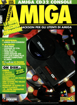 ON DISK - Amiga Magazine Online