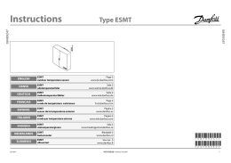 Instructions Type ESMT