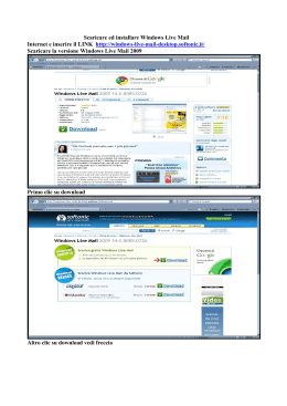 Scaricare ed installare Windows Live Mail