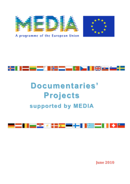 Documentaries` Documentaries` Projects - MEDIA