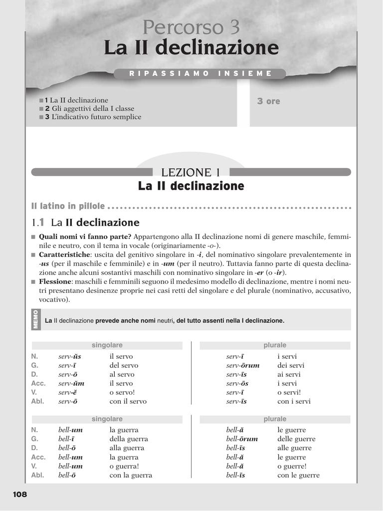 pulchrum latino declinazione