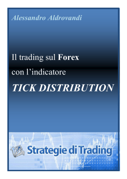 TICK DISTRIBUTION - Strategie di trading