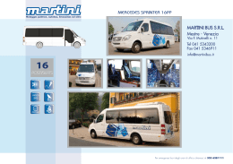sprinter 1 - Martini Bus