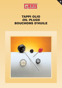 Tappo olio oil drain filling plug bouchon d huile for Tappi antirumore 40 db