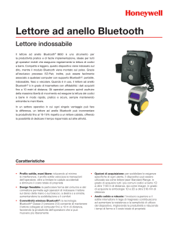 Lettore ad anello Bluetooth - Honeywell Scanning and Mobility