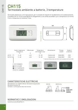 Manuale tecnico centralina easy clima sa for Intellitherm c57