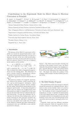 Contributions to the Experiment Mu2e for Direct Muons to Electron