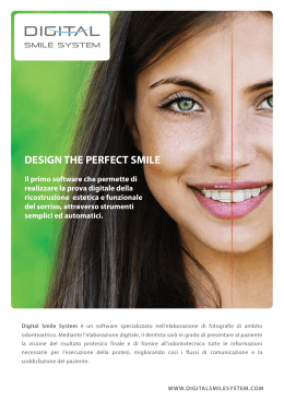 DESIGN THE PERFECT SMILE