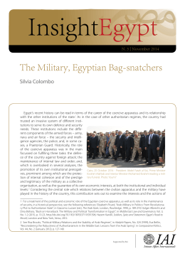 The Military, Egyptian Bag-snatchers