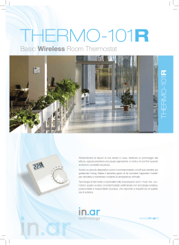 THERMO-101R - In.Ar Technology