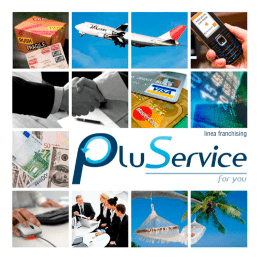linea franchising - PluService For You