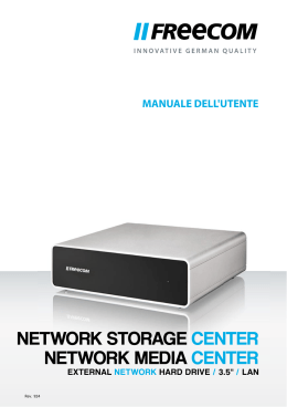 NETWORK STORAGE CENTER NETWORK MEDIA