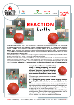 Reaction Ball - Daniele Gatti
