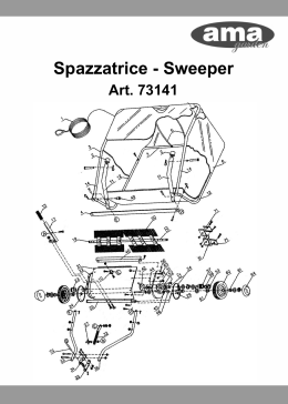 Spazzatrice - Sweeper