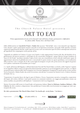 Art to Eat - The Church Palace