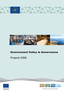 Environment Policy & Governance