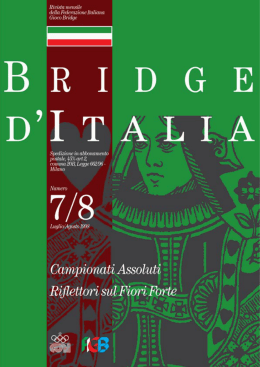 Campionati As - Federazione Italiana Gioco Bridge