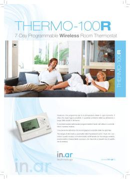 THERMO-100R - In.Ar Technology