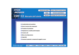 EPSON EMP-S3 Users Guide