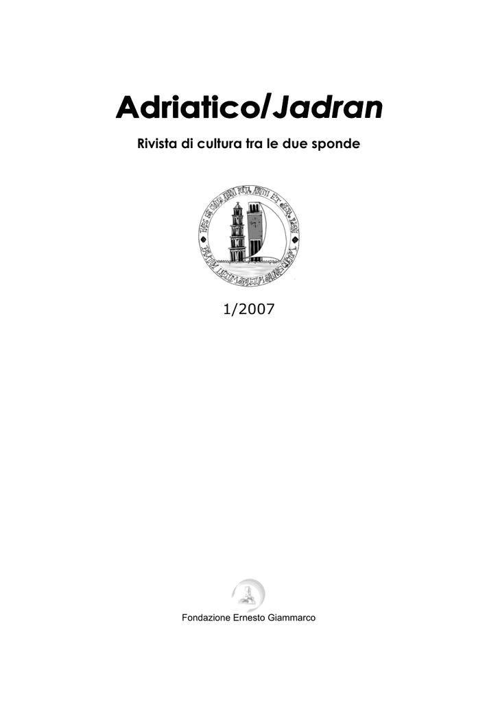 Jadran 1 2007