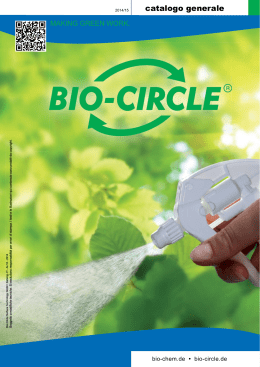 catalogo bio circle - FIT srl
