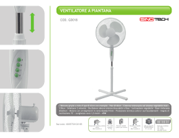 GD018 - Ventilatore a piantana