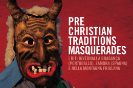 pre christian traditions masquerades