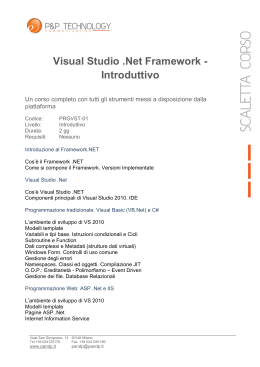 Visual Studio .Net Framework