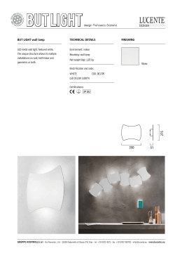 Certifications: but light wall lamp Electrification and code