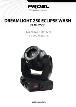 DREAMLIGHT 250 ECLIPSE WASH